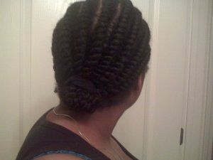 Flat Twists Natural Hair 4