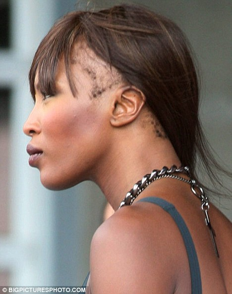 Naomi Campbell Hair Edges