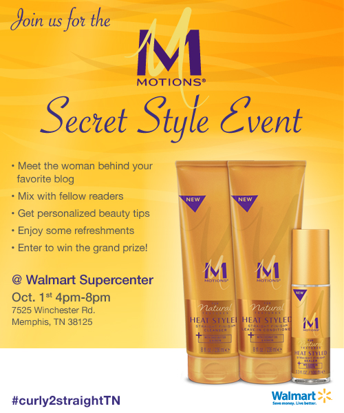 Motions Secret Style Event