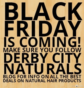 black friday natural hair