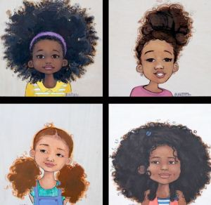 natural hair art ariel 2