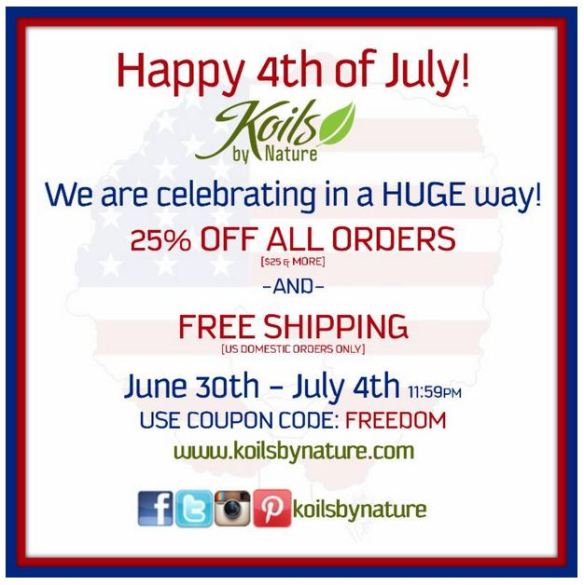 KBN 4TH OF JULY SALE