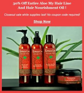 komaza care aloe my hair sale