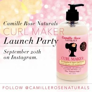 Camille Rose Curl Maker Launch Party