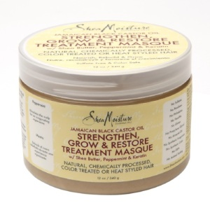 Shea Moisture Jamaican Black Castor Oil Strengthen Grow Restore Treatment Masque