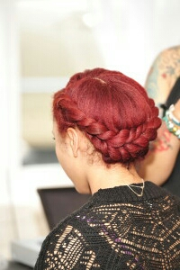 SK Red Natural Hair Derby City Naturals