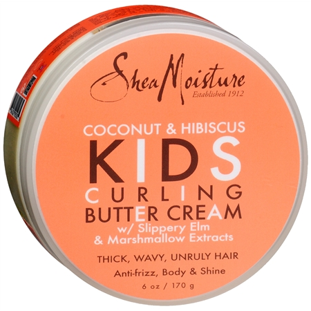 Shea Moisture Coconut Hibiscus Kids Curling Butter Cream