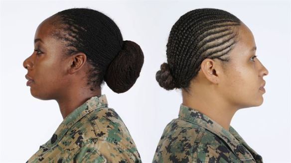 Marine with locs and twists